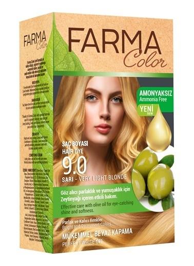 Farmasi Farmacolor Saç Boyası 9.0 Sarı Renksiz